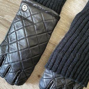 MK fingerless gloves